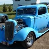 Wayne Creswell 35 Chev Coupe
